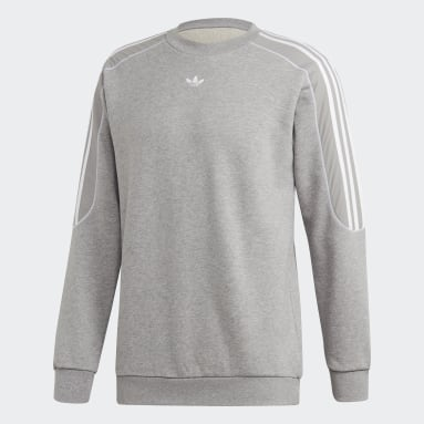 Men's Originals Grey Radkin Crewneck Sweatshirt