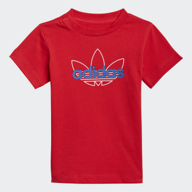 Infant & Toddler Originals Red adidas SPRT Collection Graphic Tee