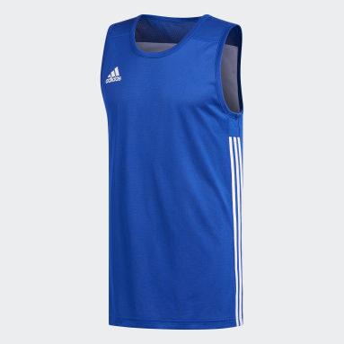 Camiseta Reversible 3G Speed Azul Hombre Baloncesto