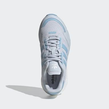 Women Originals Blue ZX 1K Boost Shoes
