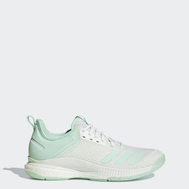 Women's Volleyball White Crazyflight X 2.0 Parley Shoes