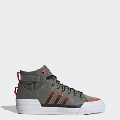 Men Originals Green Nizza Hi DL Shoes