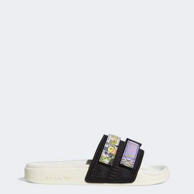 Originals Hvid Adilette 2.0 Pride sandaler