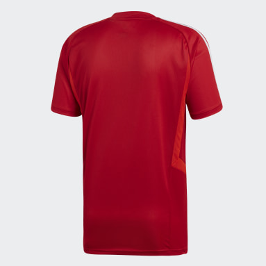 Men Gym & Training Red Tiro 19 Training Jersey