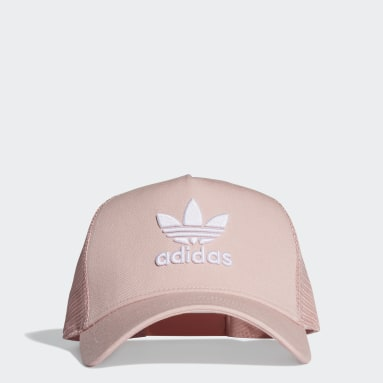 Originals Pink Trefoil Trucker Cap