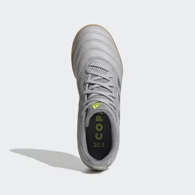 Children Futsal Grey Copa 20.3 Sala Indoor Shoes
