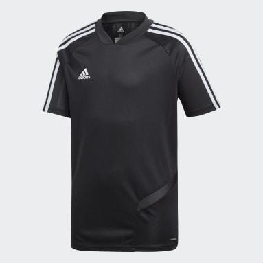 Kinderen Fitness En Training Zwart Tiro 19 Training Voetbalshirt