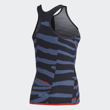 Playera Training Miracle Sculpt Tank Gris Mujer adidas by Stella McCartney