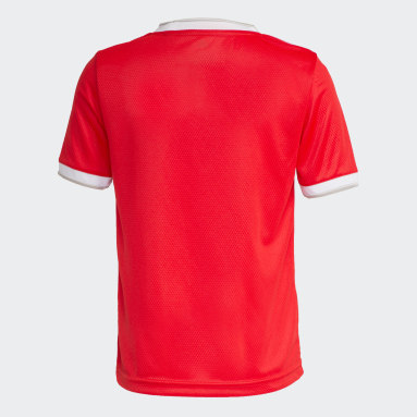 Camisa Internacional Vermelho Meninos Futebol