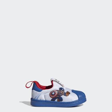 Infants Originals White Superstar 360 Shoes