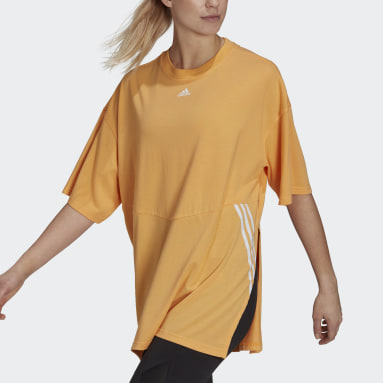 T-shirt Oversize Orange Femmes Sportswear