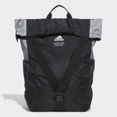 Cycling Black Classic Flap Top Shopper Backpack