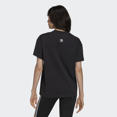 Women Originals Black Graphic Tee