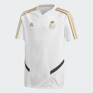 Děti Fotbal bílá Dres Real Madrid Training