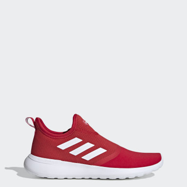 Men Sport Inspired Red Lite Racer Slip-On Shoes