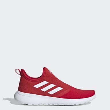 Men Sport Inspired Red Lite Racer Slip-On Shoes