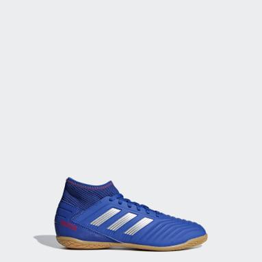 Calzado de Fútbol Predator Tango 19.3 Bajo Techo (UNISEX) Azul Niño Fútbol
