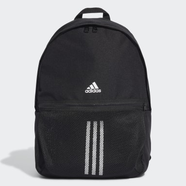 Vintersport Sort Classic 3-Stripes rygsæk