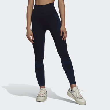 Women Gym & Training Blue Formotion Sculpt Two-Tone Tights