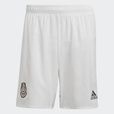 Shorts Uniforme Titular Selección Nacional de México Blanco Hombre Fútbol