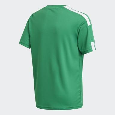 Boys Fodbold Grøn Squadra 21 trøje