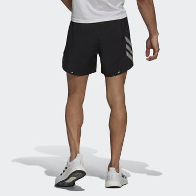 Pantalón corto adidas 2-in-1 Primeblue Negro Hombre Running