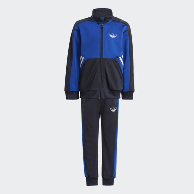 Kids Originals Blue adidas SPRT Collection Tracksuit