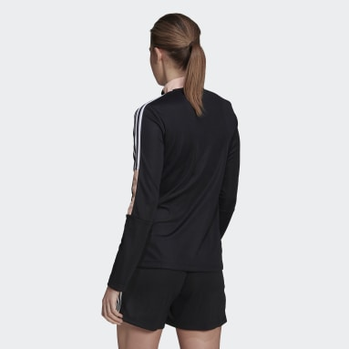 Women Football Black Tiro 21 Track Jacket