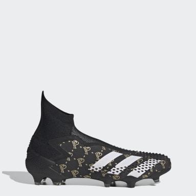 Men Football Black Predator Mutator 20+ Paul Pogba Firm Ground Boots