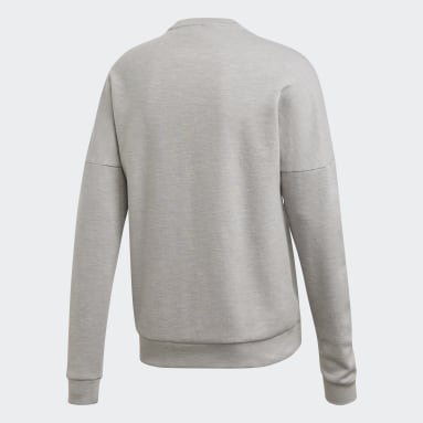 Men Sportswear Grey ID Stadium Crewneck Sweatshirt