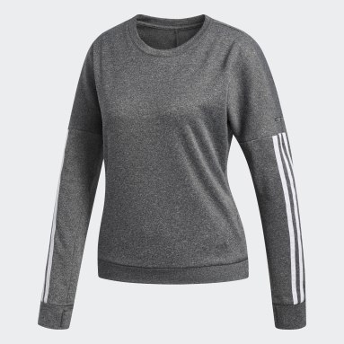 Women Field Hockey Grey Response Long Sleeve Shirt