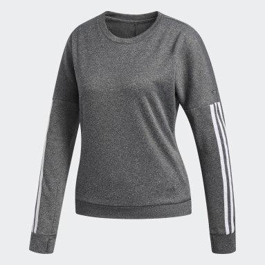 Kvinder Udendørshockey Grå Response Long Sleeve trøje