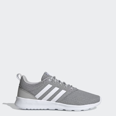 Women Walking Grey QT Racer 2.0 Shoes