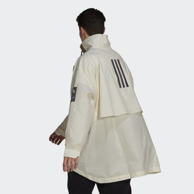 Veste MYSHELTER Parley WIND.RDY Anorak Blanc Hommes City Outdoor