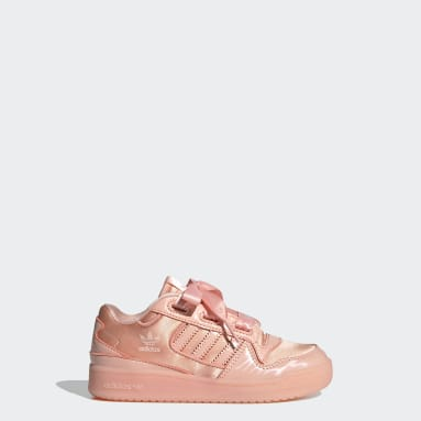 Scarpe Forum Satin Low Rosa Bambini Originals