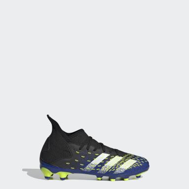 Chaussure Predator Freak.3 Multi-surfaces Noir Garçons Football
