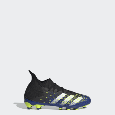 Children Soccer Black Predator Freak.3 Multi-Ground Cleats