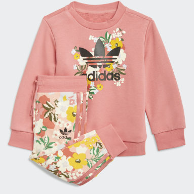 Infant & Toddler Originals Pink HER Studio London Floral Crew Set