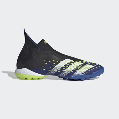 Zapatos de Fútbol Predator Freak+ Sin Cordones Pasto Sintético Negro Hombre Fútbol