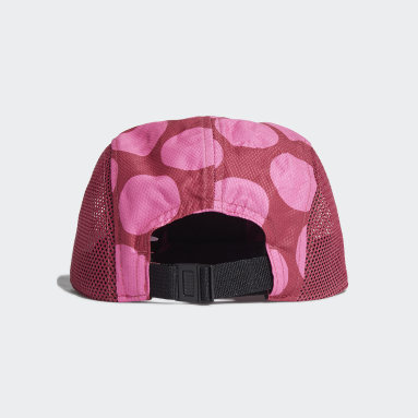 Feldhockey Five-Panel Power Kappe Rosa