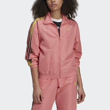 Women's Originals Pink Fakten Track Jacket
