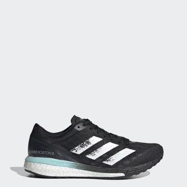 Women Running Black Adizero Boston 9 Shoes