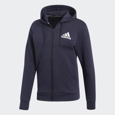 Men Sportswear Blue Must Haves Plain Jacket