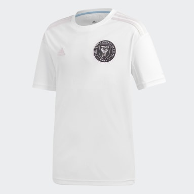 Youth Soccer White Inter Miami CF Home Authentic Jersey
