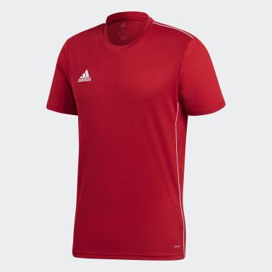 Camisa Treino Core 18 Vermelho Homem Futebol