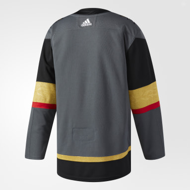 Maillot Golden Knights Domicile Authentique Pro gris Hockey