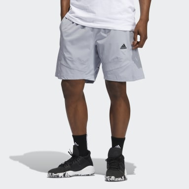 Men's Basketball Grey Cross-Up 365 Shorts