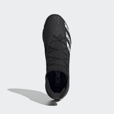 Men's Soccer Black Predator Freak.3 Indoor Shoes