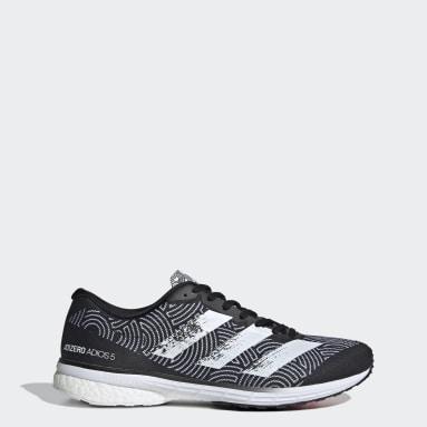 Running Black Adizero Adios 5 Tokyo Shoes