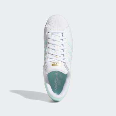 Men's Originals White Superstar Shoes